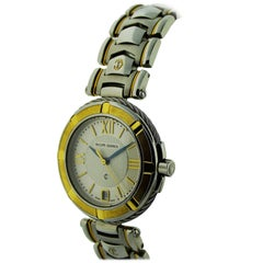 Philippe Charriol Yellow Gold Stainless Steel Bracelet Quartz Watch