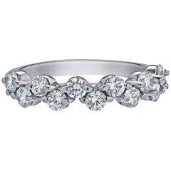 Emilio Jewelry Zig Zag Diamond Wedding Band