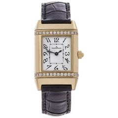 Jaeger-LeCoultre Reverso 18 Karat Yellow Gold Gents 265108