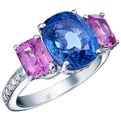 Clarisse White Gold Sapphire Ring