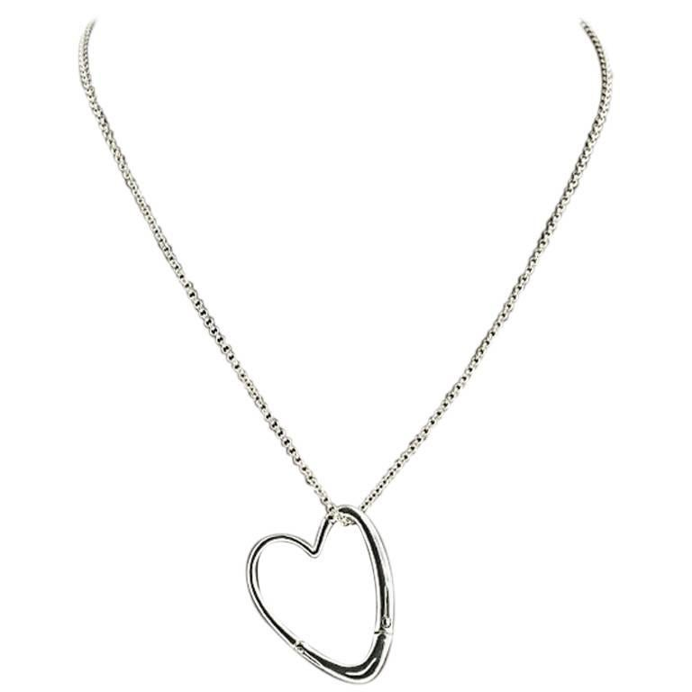 John hardy bamboo sterling silver open heart pendant necklace at john hardy bamboo sterling silver open heart pendant necklace for sale aloadofball Images