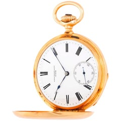 Patek Philippe & Co. Yellow Gold Hunter Case Pocket Watch