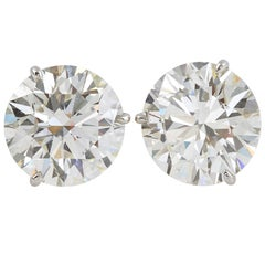 GIA Certified Diamond Stud Earrings