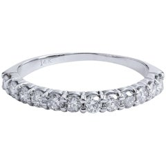 0.42 Carat Diamond Band Ring