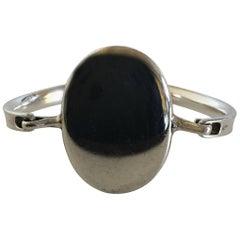 Georg Jensen Sterling Silver Modernist Torun Bracelet No. 230