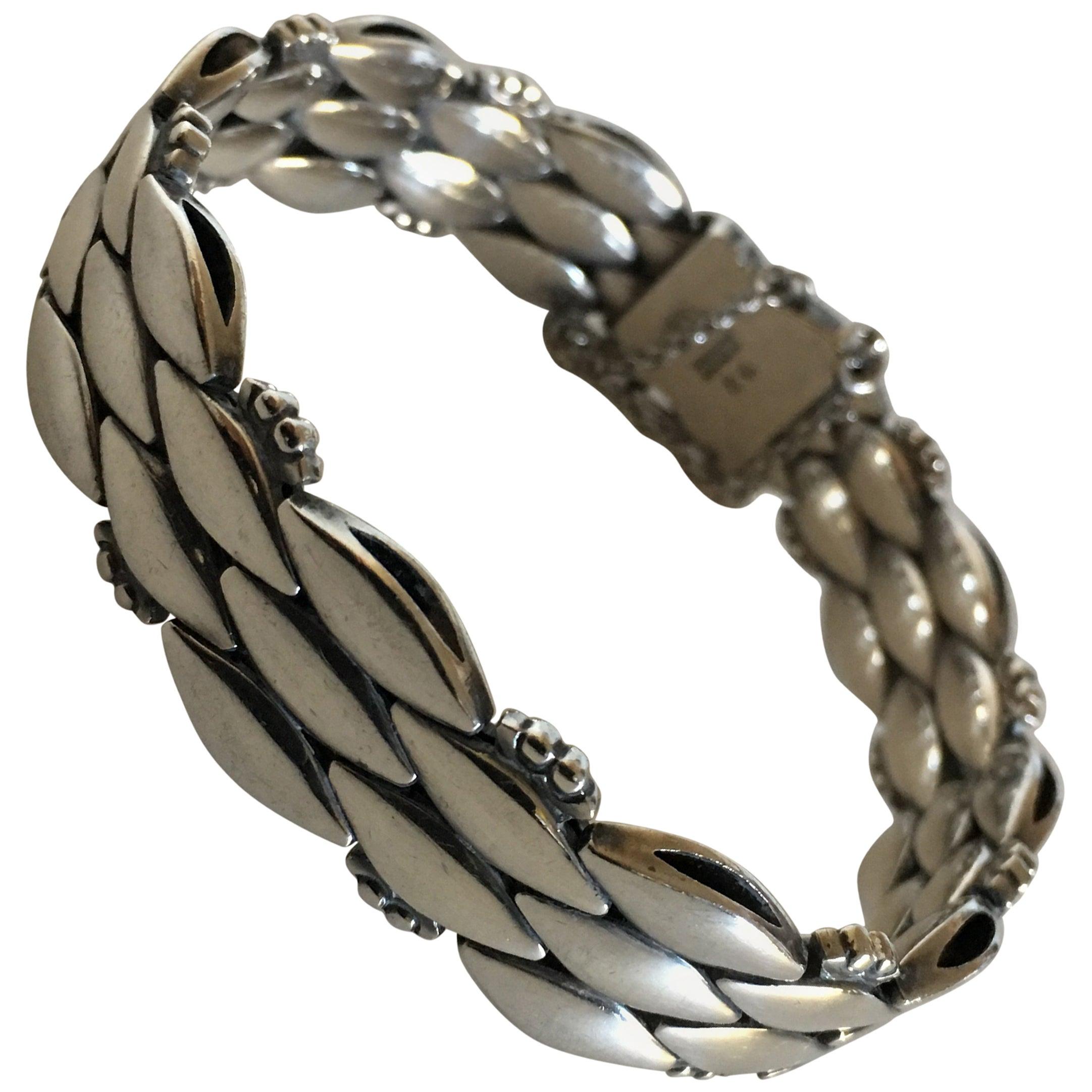 Georg Jensen Sterling Silver Bracelet No. 86