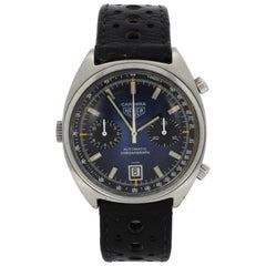 Heuer Carrera Stainless Steel Chronograph Wristwatch Ref 110.253