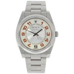 Rolex Stainless Steel Air King Wristwatch Ref 114200, 2008