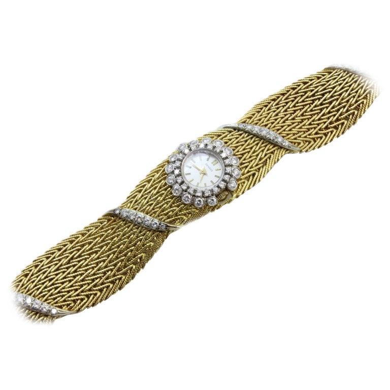 Rose Gold Diamond Wristwatch