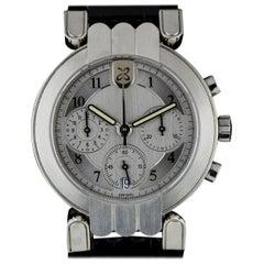 Harry Winston Platinum Silver Dial Premier Chronograph Gent Automatic Wristwatch