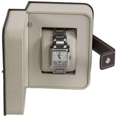 Baume & Mercier Stainless Steel Hampton Automatic Wristwatch