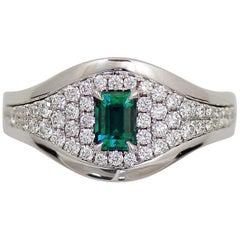 Frederic Sage 0.59 Carat Alexandrite Diamond One of Kind Ring