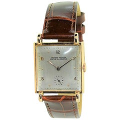 Ulysse Nardin Rose Gold Art Deco Original Crystal and Crown Manual Wristwatch