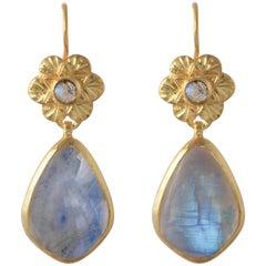 Emma Chapman Moonstone Earrings
