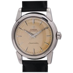 Omega Stainless Steel Seamaster Automatic Wristwatch Ref 2828-SC1, circa 1955