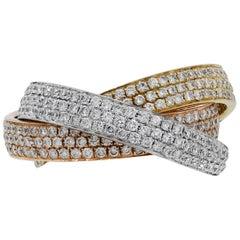 Pave Diamond Rolling Ring