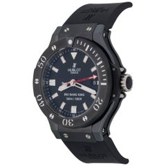 Hublot Stainless Steel Big Bang King Black Magic Automatic Wristwatch