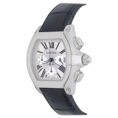 Cartier Stainless Steel Roadster Chronograph Automatic Wristwatch