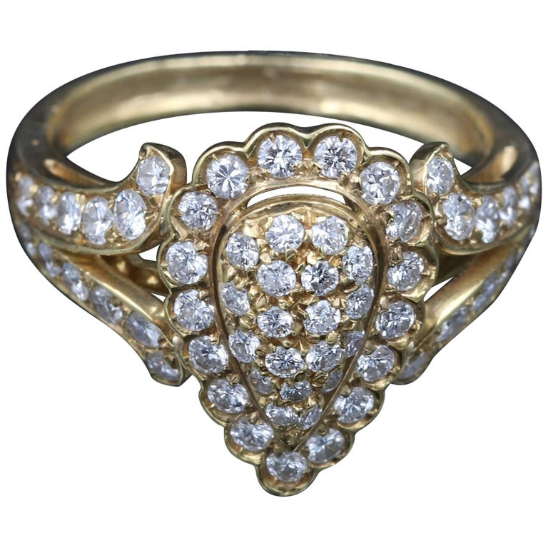 Gold and Diamonds Cartier Ring