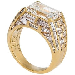 Bulgari Estate Diamond and Gold Ring