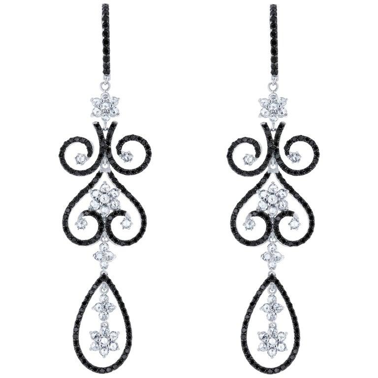 780 carat black diamond chandelier earrings for sale at 1stdibs 780 carat black diamond chandelier earrings for sale aloadofball Gallery