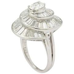 Oscar Heyman Diamond Ring