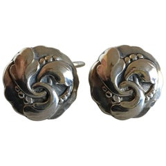 Georg Jensen Sterling Silver Cufflinks No. 65