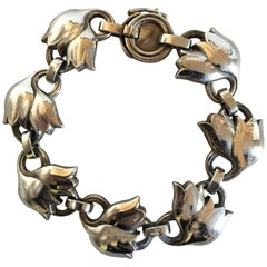Georg Jensen Sterling Silver Bracelet No. 100B