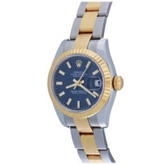 Rolex Ladies Datejust in 18 Karat Yellow Gold and Stainless Steel Ref 179173
