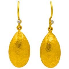 Lika Behar Amanda 24 Karat Gold Drop Earrings