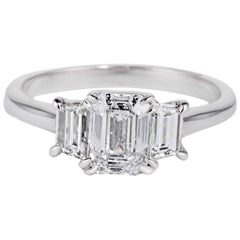 Cushla Whiting GIA Certified 'Sofia' 1.10 Carat Diamond Art Deco Engagement Ring