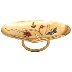 Rebecca Koven Gold Shell Ring