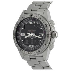 Breitling Stainless Steel B-1 Quartz Wristwatch Ref A68362