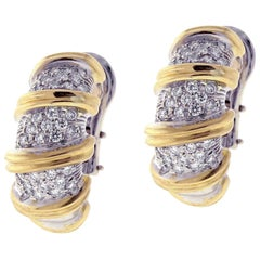 Roberto Coin's Nabucco Diamond Hopp Earrings