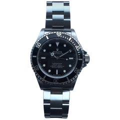 Rolex Stainless Steel Oyster Perpetual Submariner Wristwatch Ref 14060M