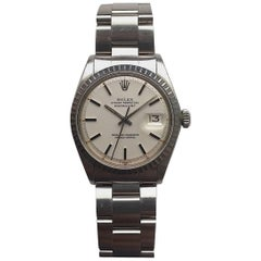 Rolex Stainless Steel Oyster Perpetual Datejust Automatic Wristwatch, 1970s