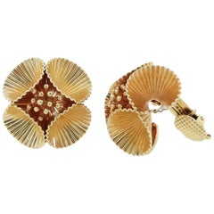Cartier Midcentury Clip Back Earrings