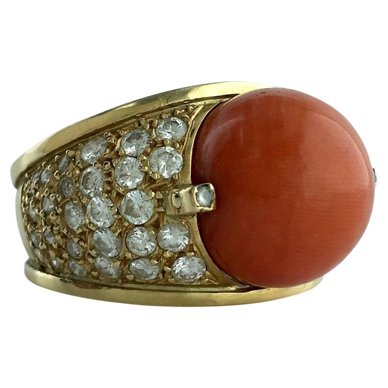 1960s Diamond and Yellow Gold Ring