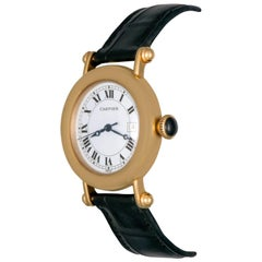 Cartier Yellow Gold Midsize Diablo Quartz Wristwatch
