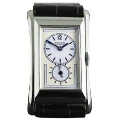 Rolex Platinum Prince Brancard Wristwatch, circa 1930