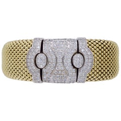 Diamond Mesh Bracelet with Extender