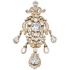 Diamond Pendant of Donna Rachele Mussolini