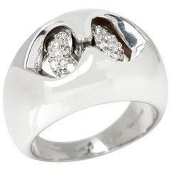 Bulgari Diamond Doppio Cuore Ring