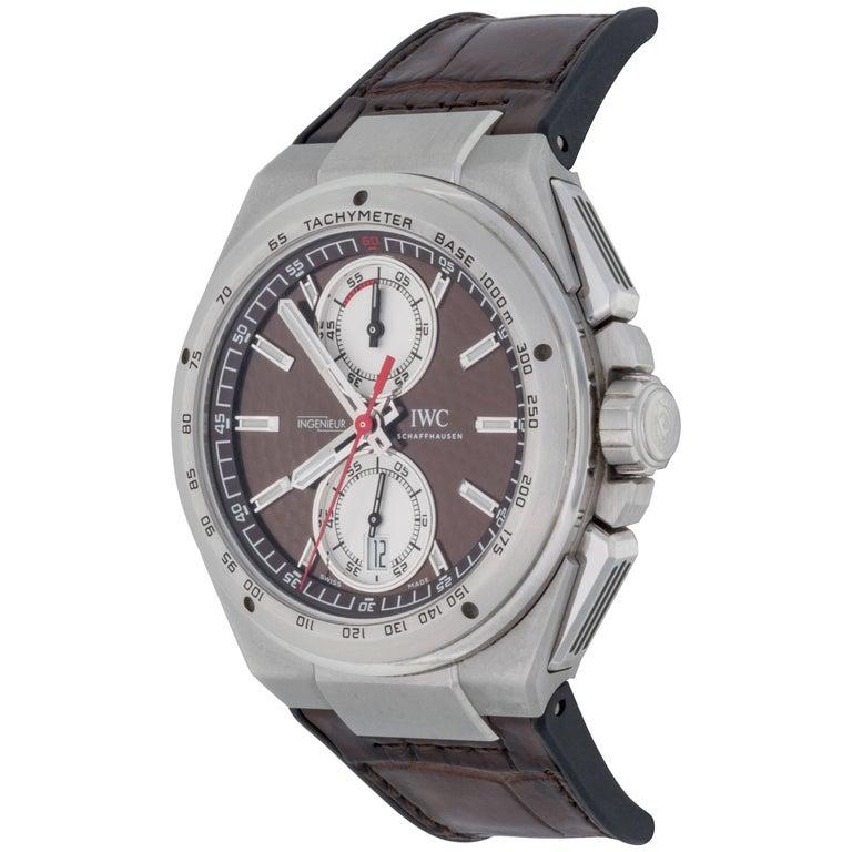 IWC Stainless  Steel Ingenieur Chronograph Ltd Ed Automatic Wristwatch