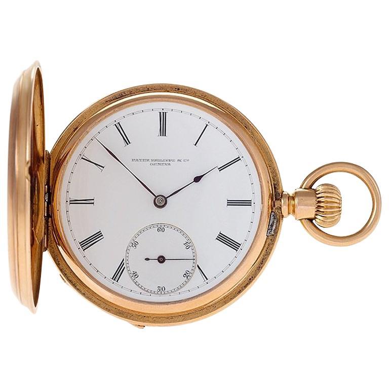 Gold Stem-Wound Pocket Watch by Patek Philippe