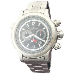 Jaeger LeCoultre Stainless Steel Master Compressor Automatic Wristwatch