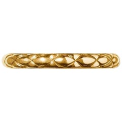 Gold Quilt Ring