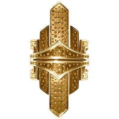 Gold New York Ring