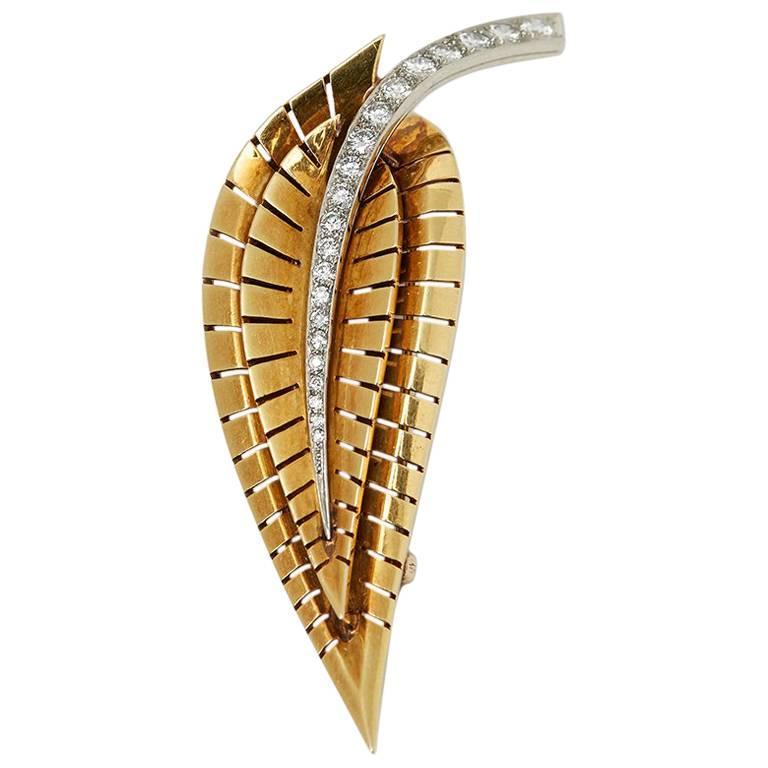 Van Cleef & Arpels Diamond Vintage Brooch