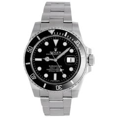 Rolex Stainless Steel Submariner Diver's Automatic Wristwatch Ref 116610